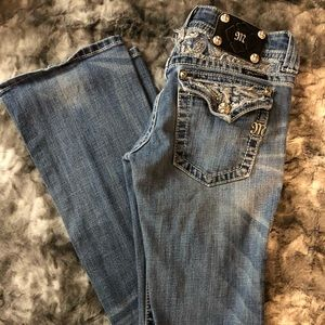 🌸Miss Me Distressed Bootcut Jeans🌸
